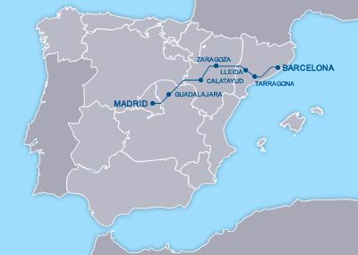 AVE Madrid Barcelona