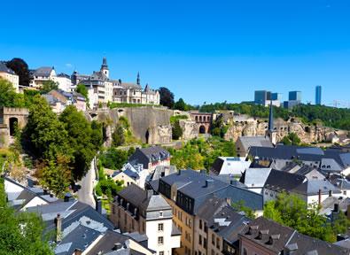 Trenes TGV París - Luxemburgo