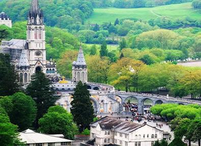 Trenes TGV París - Lourdes