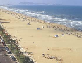 Playa Norte de Gandía