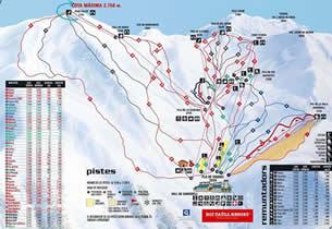 Mapa estaci�n esqu� Bo� Ta�ll