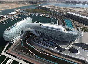 Yas Marina: Circuito de Fórmula 1